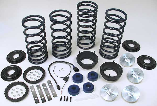Land Rover air suspension conversion kit