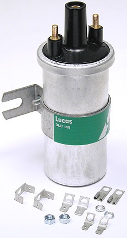 Ignition Coil For Distributor Ignition RTC5628 By Lucas Girling, For Land Rover Discovery I, Defender 90 And 110, And Range Rover Classic (See Fitment Years)