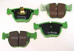 front brake pads for Range Rover Full Size - SFC500050EBC