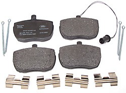 Brake Pads - Front - Genuine - 1987-1989 - Non-ABS
