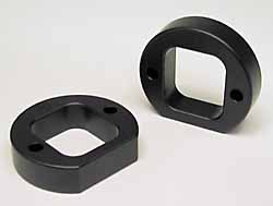 Land Rover suspension lift spacers