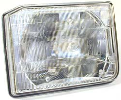 Genuine Headlamp Assembly, Left Hand, For Land Rover Discovery 1