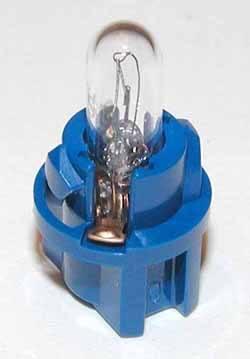 Bulb & Holder Instrument Blue Base
