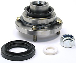 Transfer Box Output Flange Kit, Front, For Land Rover Discovery I, Discovery Series II, Defender 90 And 110, And Range Rover Classic 1987 - 1988
