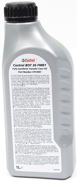 Castrol transfer case oil