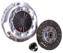 Clutch Kit, Includes Clutch, Cover And Bearing, For Land Rover Discovery I, And Defender 90 And 110