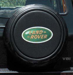 Spare Tire Cover - Land Rover Logo