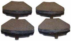 Brake Pads - Rear