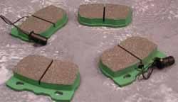 EBC brake pads for Range Rover Classic - STC9190EBC