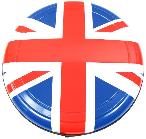 Boomerang Rigid Wheel Cover For Spare Tire (Color Union Jack Design)
