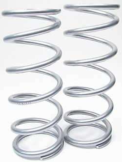 Terrafirma Coil Springs, Front Pair, Medium Load, For Land Rover Discovery I, Defender 90 And Range Rover Classic