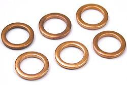 6 oil drain plug washers - UAM2857L