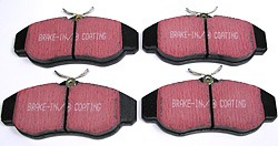EBC Ultimax Front Brake Pad Set For Land Rover Discovery Series II And Range Rover P38