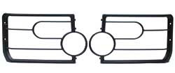 Front Lamp Guards For Land Rover LR3