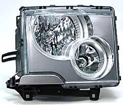 Genuine Headl Light Assembly, Right Hand, Halogen, For Range Rover Full Size L322, 2003 - 2005