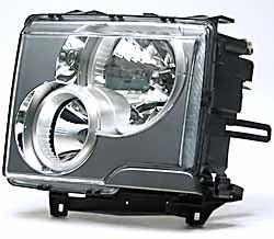 Headlamp Assembly - Halogen - Left Hand