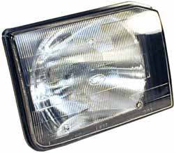 Genuine Headlight, Right Hand, For Land Rover Discovery Series II, Pre-Facelift 1999 - 2002