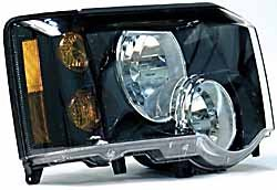 Genuine Headlight Or Headlamp Assembly, Right Hand, For Land Rover Discovery Series II, 2003 - 2004