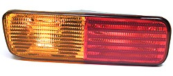 Rear Lamp Turn Signal Assembly, Left Hand Driver's Side On Bumper, For Land Rover Discovery Series II, 1999 - 2002