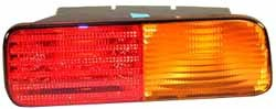Genuine Rear Lamp Turn Signal Assembly, Left Hand Driver's Side On Bumper, For Land Rover Discovery Series II, 1999 - 2002