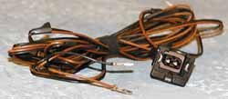 wiring harness for the climate control temperature sensor