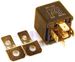 Auxiliary Relay, Multi-Purpose Applications, For Land Rover Discovery I, Defender 90 And 110, And Range Rover Classic